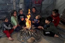 70 الف يورو لمساعدة فقراء الفلسطينيين لمواجهة برد الشتاء
