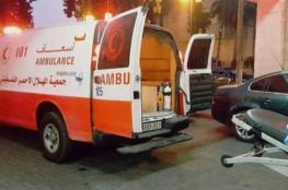 اصابة 11 مواطنا بينهم 5 اطفال في حادث سير قرب نابلس