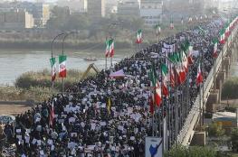 الحرس الثوري  يتهم السعودية والامارات بالوقوف خلف الاحتجاجات في ايران