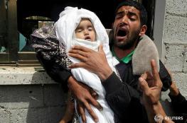 غزة تشيع جثامين الشهداء الذين ارتقوا بالتصعيد الاسرائيلي