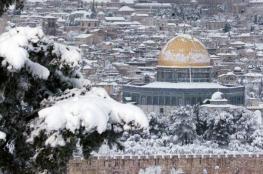 ثلوج وامطار وعواصف متوقعة ان تهطل على فلسطين هذا الشتاء