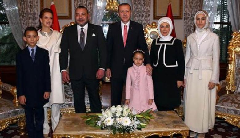 ملك المغرب يدعو أردوغان لزيارة بلاده