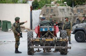 حملة تفتيش ومداهمات ينفذها الاحتلال لليوم الثاني على التوالي في مدينة يعبد