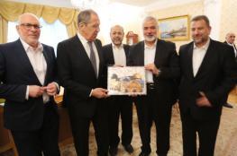 حماس : تطابق الرؤى بين هنية ولافروف حول صفقة القرن