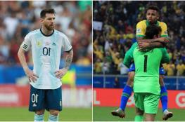 شاهد ..البرازيل تسحق الارجنتين في نصف نهائي كوبا اميركا