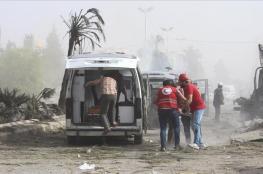 مقتل 16 مدنيًا بقصف جوي للنظام السوري
