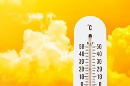 حالة الطقس: درجات الحرارة أعلى من معدلها السنوي بحدود 10 درجات