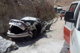 10 اصابات بينها خطيرة في حادث تصادم 3 مركبات شرق القدس