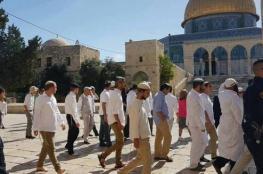 مستوطنون يجددون اقتحامهم للمسجد الأقصى المبارك