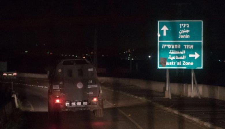 حملة اعتقالات ومداهمات في جنين ورام الله