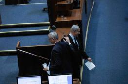 المشتركة تدين انضمام غانتس لحكومة بقيادة نتنياهو