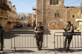 الاحتلال يشدد من اجراءاته الأمنية في محيط الحرم الإبراهيمي