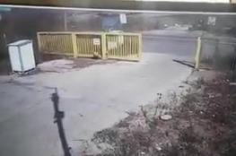 """""""اسرائيل """" تنشر فيديو نجاة ناقلة الجند من صواريخ حزب الله"""