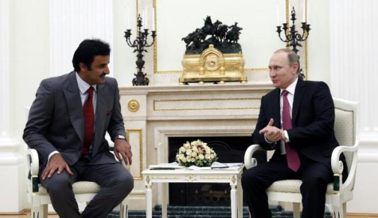 مباحثات روسية قطرية حول سوريا