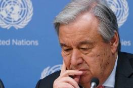 """التصعيد في غزة ..الامين العام للامم المتحدة  يعبر عن """"بالغ قلقه """""""