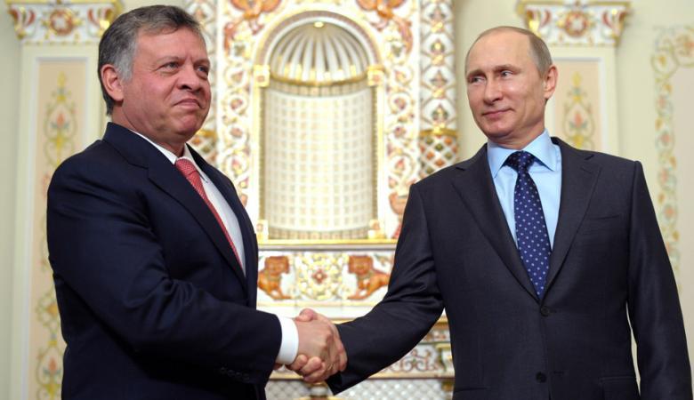قمة مرتقبة بين الرئيس الروسي والعاهل الاردني لبحث عملية التسوية