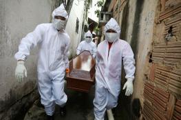البرازيل : اكثر من 460 الف اصابة بفيروس كورونا