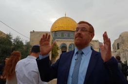المتطرف غليك يقود اقتحاما جديدا إلى المسجد الاقصى