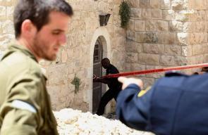 استشهاد شاب فلسطيني برصاص الاحتلال قرب الحرم الابراهيمي في الخليل