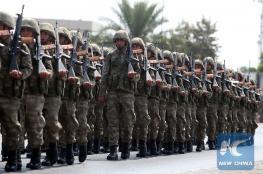 تركيا تعتقل العشرات من الجنود المتمردين