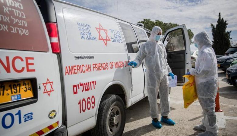 """""""إسرائيل"""" الثالثة عالميا من حيث نسبة عدد الإصابات بكورونا"""