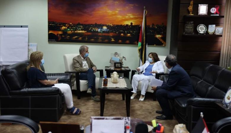 الصحة العالمية تقدم سيناريوهات مقترحة للتعامل مع الوضع الوبائي في فلسطين