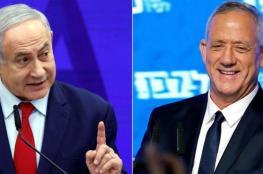 الانتخابات الاسرائيلية  :ازرق ابيض يتقدم على حزب الليكود