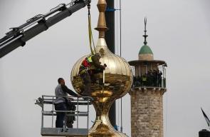تدشين اطول مئذنة في القدس