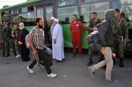 بدء خروج مقاتلين سوريين وعائلاتهم من حمص  بعد اتفاق مع الحكومة