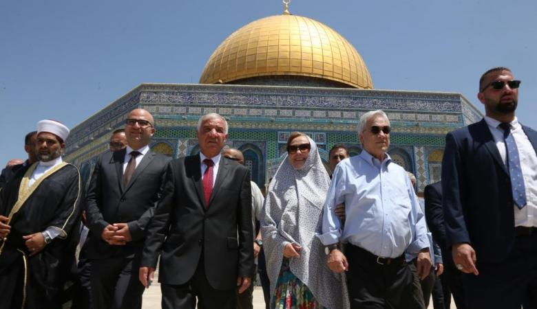 اسرائيل لسفير التشيلي : نحن اصحاب السيادة على الأقصى