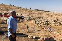 """اسرائيل تقرر مصادرة """"260 """" دونما من اراضي بلدة الظاهرية جنوب الخليل"""