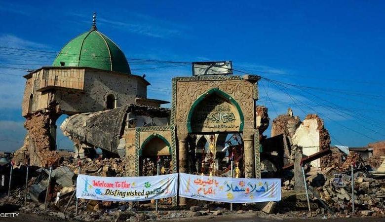 الشروع في إعادة إعمار مسجد النوري بالموصل