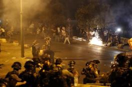اصابة 7 مواطنين في مواجهات مع الاحتلال في ابو ديس