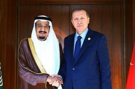 تركيا : الملك سلمان ساهم في تحسين العلاقات مع السعودية
