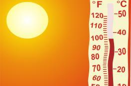 حالة الطقس: أجواء شديدة الحرارة وفرصة لسقوط أمطار ليلاً