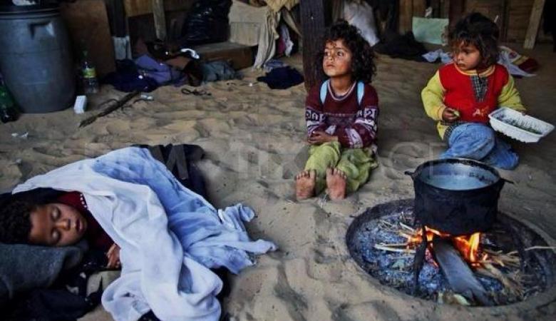 احصائية صادمة لنسبة الفقر في فلسطين
