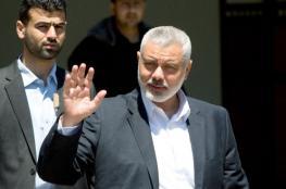 هنية يطلع رئيس مجلس النواب اللبناني على ملف المصالحة