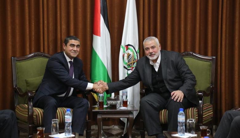 الوفد الامني المصري يغادر غزة بعد لقاءات مكثفة مع قيادة حماس