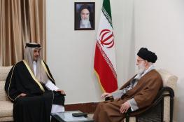 خامنئي يكشف لأمير قطر بما تريده إيران بعد اغتيال سليماني