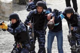 الشرطة تضبط عصابة متهمة بارتكاب 29 قضية سرقة في رام الله والبيرة والقدس وسلفيت