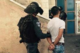الاحتلال يعتقل 6 مواطنين من القدس فجر اليوم