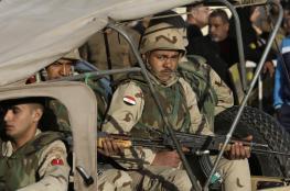 مصر تعلن عن قتل 14 عنصر مسلح في شمال سيناء