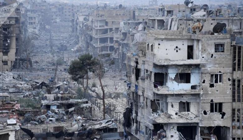 وعودات جديدة باستكمال ازالة الركام من مخيم اليرموك في سوريا