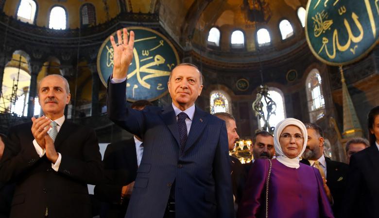 حماس عن قرار تحويل آيا صوفيا : خطوة تثير اعتزاز المسلمين