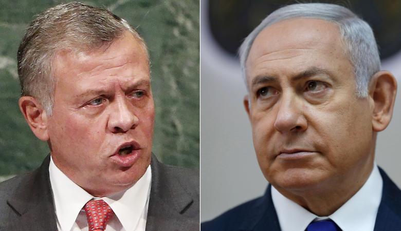 رداً على اسرائيل ...العاهل الاردني كان سيطرد سفير تل أبيب