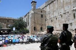 """الاحتلال منع الاذان في الحرم الابراهيمي """" 47 """" وقتاً"""