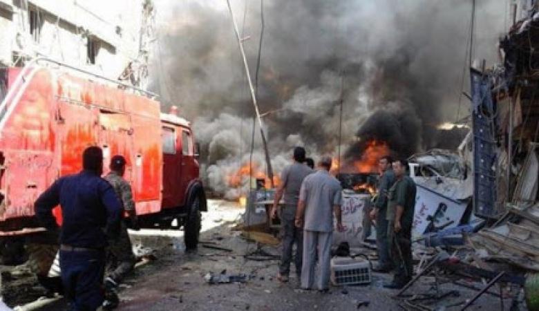 اصابات بينها خطيرة بانفجار عبوة ناسفة في دمشق