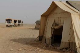 الأردن يسمح بإدخال المساعدات لمخيم الركبان مرة واحدة