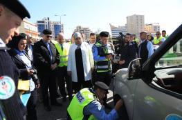 رام الله: انطلاق حملة الفحص الشتوي 2019 للمركبات