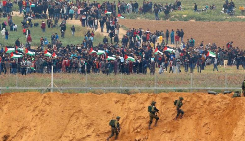"""غزة تتحضر لجمعة """"المقاومة خيارنا """""""